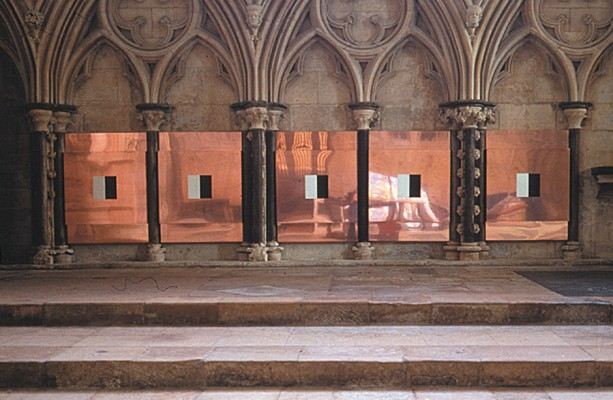 Evidence Lincoln Cathedral | oil on copper panels | each 110 x 130 cm